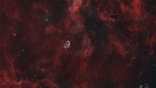 Cygnus Region - Crescent Nebula