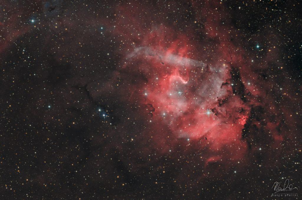 Sh2-132 Lion Nebula